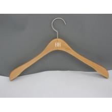 HH marca Natural básica terno vestuário vestuário cabide com ombro mais largo