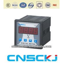 72 * 72mm Voltímetro digital monofásico con alarma