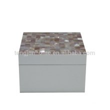 pink shell seashell custom made jewelry boxes