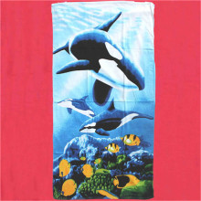 Niestandardowe logo Pocket Beach Towel Dropship