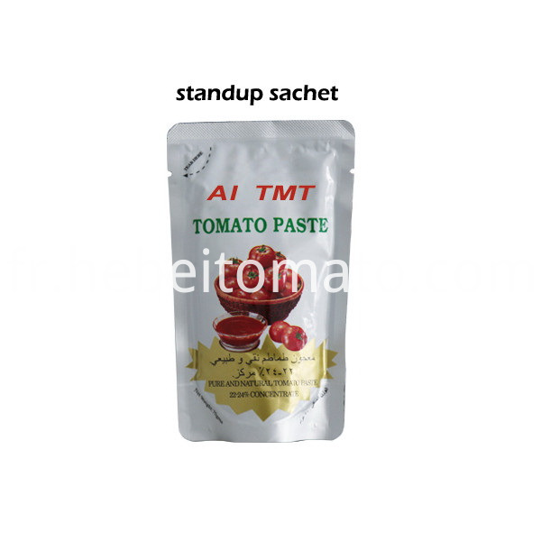 standup 22-24% pouch tomato paste