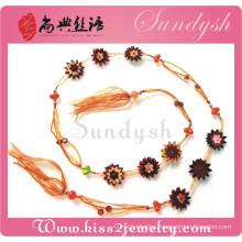 Sweater Garnet Strap Tassel Pendant Jewelry Set Guangzhou