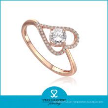 2014 Großhandelsrosen-Gold überzogener Ring (SH-R0008)