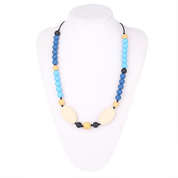 Baltic Amber Teething Necklaces&Non-toxic New Style Nursing Necklace Amber&Food Grade silicone Beads Jewelry Sets