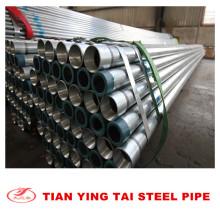 Tubo de acero galvanizado de alta capa de zinc