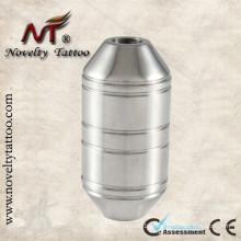 N304026-25mm aço inoxidável metal tatuagem metralhadora grips tubos