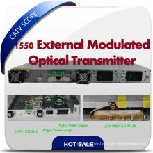Standard Externally Modulated CATV 1550nm Jdsu Modulator Optical Transmitter