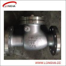 Válvula de retención oscilante API CF8 de acero inoxidable