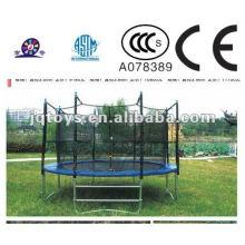 XF1103 Hotsale embroma trampolines plásticos al aire libre de la gimnasia del trampolín del juego para la venta