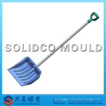 plastic injection snow shovel with handle mould