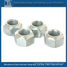 Размер М8 DIN980V углеродистая сталь все металлические замок шестигранная Гайка
