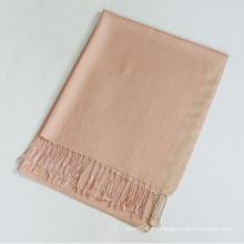 Mantón de viscosa liso con lurex