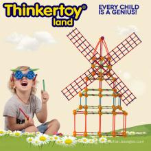 Hot Sale Plastic Educational Building Block Toys pour 3-6 enfants