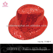 Hot sale red magician party hat for adult