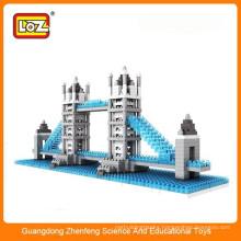 Diy plastic puzzle toys Tower Bridge toys