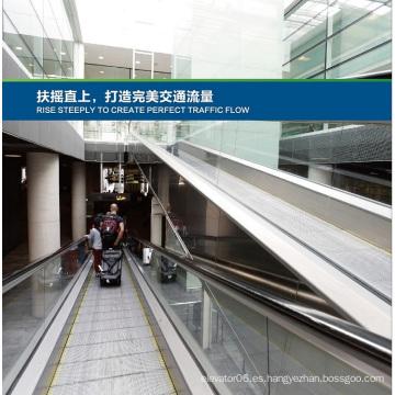 Aksen Moving Walks, Escalera mecánica en tipo de puerta