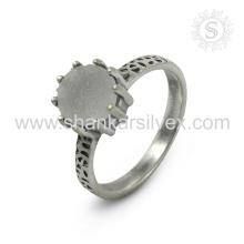 Espectacular Druzy anillo de plata de piedras preciosas al por mayor 925 joyas de plata esterlina joyas de plata artesanal en línea de plata
