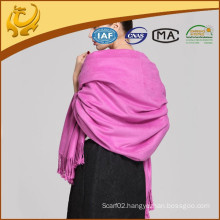 2015 New Arrival Comfortable Soft Solid Color Bamboo Brushed Throw
