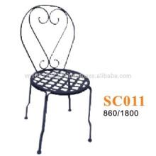 Meuble en métal - balcon de chaise