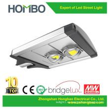 Luz de calle caliente de la venta 60W 70W 80W 90W 100W LED 5 años de garantía Aluminio Bridgelux llevó la lámpara al aire libre de la fuente de iluminación