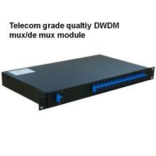 Telecom Grade Rack Mount Qualtiy DWDM Mux / Demux Modul