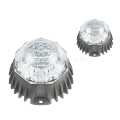 Aleación de aluminio DMX512 RGB LED Dot Light SP3B