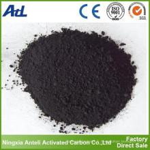produits chimiques de traitement de l'eau ont activé la poudre de charbon de bois