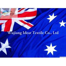 Banderas nacionales de 100% poliester/poliester impreso banderas nacionales de diferentes países