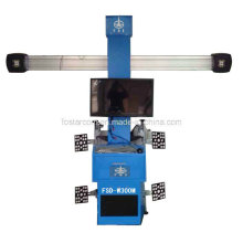 Kein Push Cart Type 3D Vier-Rad-Positionierungsinstrument: Fsd-W300m