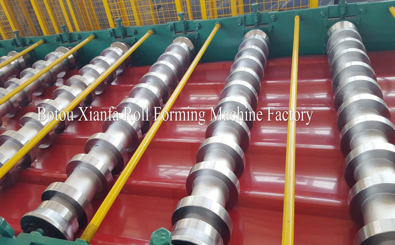 TR metal roof roll forming machine