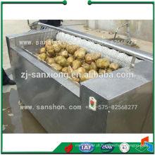 Advanced Sanshon MXJ-10G Fruta, escova de vegetais lavagem e máquina de descascar
