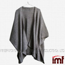 Cashmere Wool Blended knitting ladies Cape