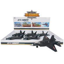 6PCS cada exposição 31 lutadores pretos avião modelo