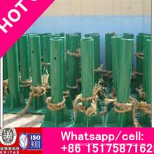 Hot DIP Galvanized Layer Coated W Wellenform Metallic Guardrail