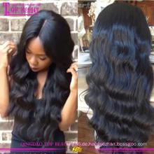 Großhandelsglühlose silk Spitzenvolle Spitzeperücke preiswerte silk Spitzenvolle Spitzeperücken für schwarze Frauen