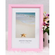 Kunststoff wieder offen Foto Frame/Rahmen/Frame/farbenfrohe Bild Bilderrahmen (BP)