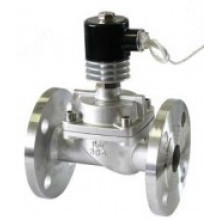 HUS Normally Closed Stainless Steel High Pressure And Temperature Water Solenoid Valves