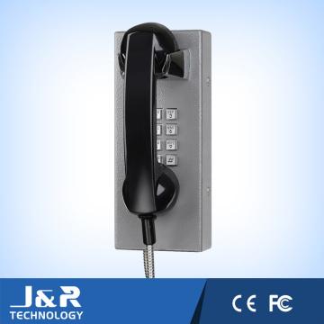 Вандалозащищенный Телефон Автоматическ-Шкалы Тюремным Телефоном Для VoIP Помощь Телефон