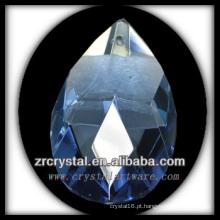 K9 Pingente De Lustre De Cristal Azul
