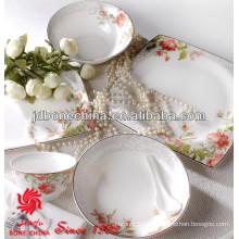 UE estándar americano gres porcelana de porcelana de hueso de cerámica placas de boda al por mayor