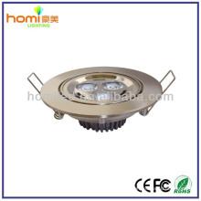 Enery salvando luzes de teto de LED 3W aprovação de CE/ROHS