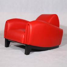Móveis modernos couro Franz Romero Bugatti preside réplica