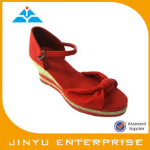 2014 new wedges lady sandals shoes