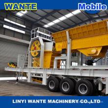 ISO mini mobile Steinbrecher Maschinen für mobile Betonwerk