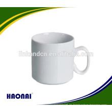 Taza de cerámica de hotel de calidad alimentaria lavavajillas con mango
