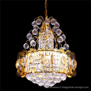 Middle Eastern Indoor Round Small Crystal Chandelier Pendants Lights