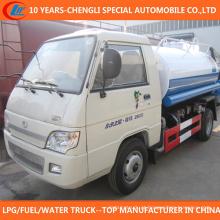 Caminhão de tanque de água Euro 2 Mini caminhão para venda