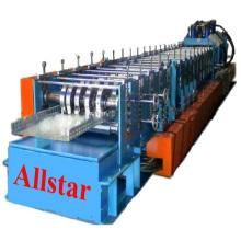 Автоматическая оцинкованной стальной кабель лоток Roll Формирование машины пресс штамповочный пресс