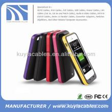 2200mAh bateria externa caso de energia de backup para o iPhone 5 5S