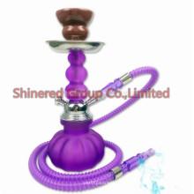 Pipa de agua tubo de fumar vidrio cachimba shisha